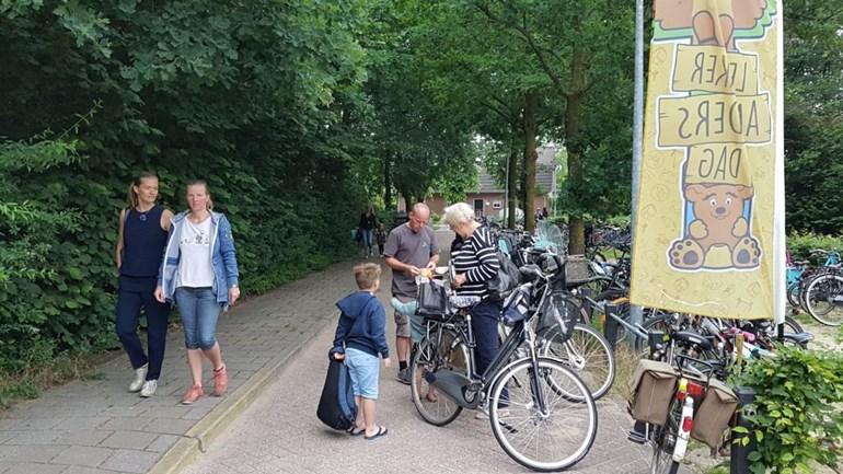 Kinderen niet met auto naar school op Lekker Anders Dag